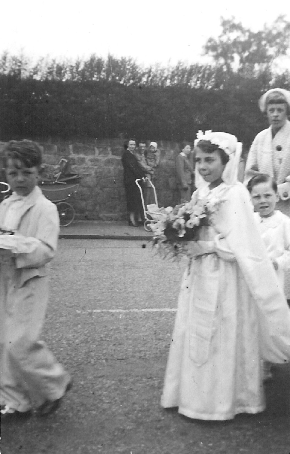 c1953 May Procession: May Queen, Barbara Haywood